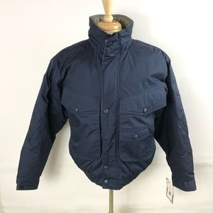 California Outerwear Vintage Mens Navy Blue Coat